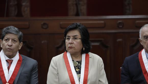 Marianella Ledesma, presidenta del TC, dijo que es saludable la transparencia en la elección de magistrados. (Foto: GEC)