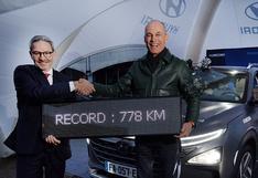 Este es el récord mundial que acaba de romper el Hyundai Nexo   FOTOS