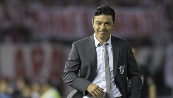 Marcelo Gallardo disputó trece finales al mando de River Plate. Ganó diez y perdió tres.