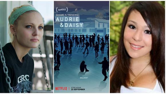A los extremos, Daisy Coleman (izq.) y Audrie Pott (der.), jóvenes estadounidenses que denunciaron abuso sexual. Ambas, cuyas historias se relataron en un documental para Netflix, han fallecido. Fotos: Netflix/ CBS.