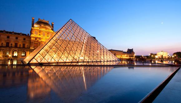 El Museo del Louvre en París es el hogar de 38.000 exhibiciones que van desde la prehistoria hasta el siglo XXI. (Foto: Shutterstock)