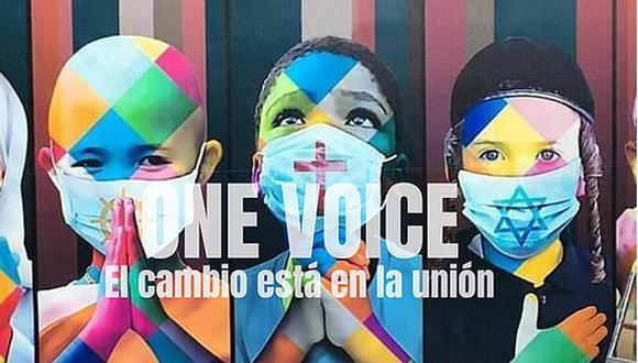One Voice ha nacido para convertirse en un movimiento social que, mediante la promoción de diversas manifestaciones artísticas, inspirará y conectará a 13 ciudades y 10 países en cuatro continentes.