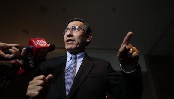Martín Vizcarra pidió autorización para viajar a Nueva York. (Foto: Hugo Pérez)