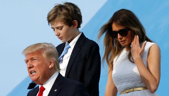 Proteger a la familia Trump, una misión compleja y agotadora