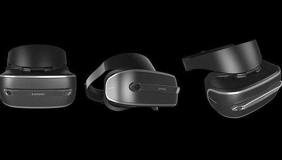 Lenovo presentó las gafas de realidad aumentada New Glass C200