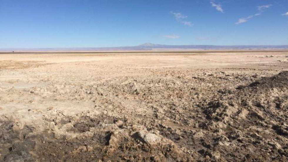 El Salar de Atacama cubre una área vasta. (Foto: Getty Images)