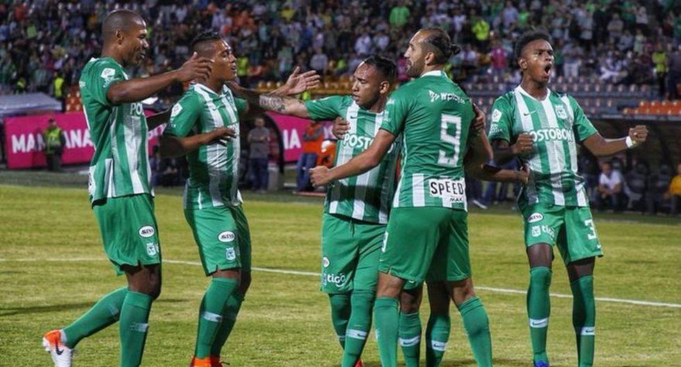 Atlético Nacional se impuso por 3-0 a Santa Fe por el partido de ida de octavos de final de la Copa Colombia en el Estadio Atanasio Girardot (Foto: Atlético Nacional)