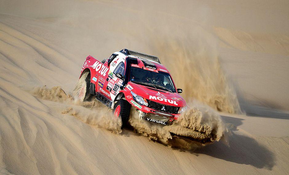 Alta Ruta, con Pancho León y Tomás Hiraoka, ganaron su categoría en la división de coches en el Dakar 2019.. (Foto: Itea Comunicaciones)