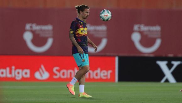 Antoine Griezmann se sumó a la plantilla del Barcelona en el inicio de esta temporada. (Foto: EFE)