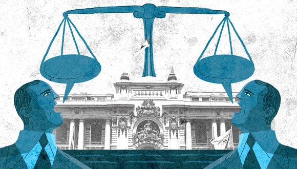 ¿Garantiza, realmente, el concurso público de méritos establecido en el anteproyecto de Reglamento que la elección de los magistrados carezca de tintes políticos? (Foto: GEC)