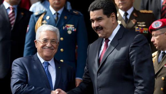Venezuela enviará petróleo a los palestinos