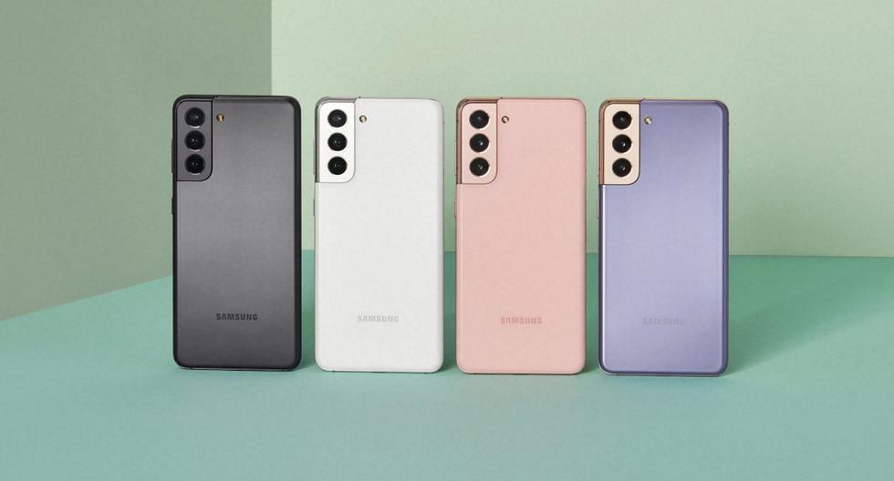 Samsung se adelantó a toda la competencia y presentó en sociedad a los integrantes de su nueva familia Galaxy S21. (Foto: Samsung)