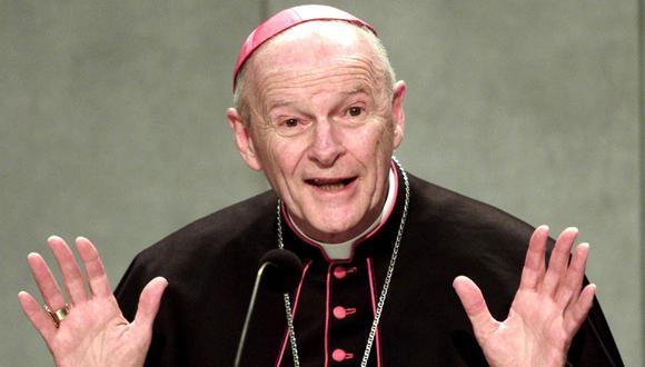 """Theodore McCarrick: la doble vida del cardenal expulsado por el Vaticano tras hallarlo culpable de """"cometer actos impuros"""" con adultos y menores   tío Teddy. (EFE)."""