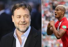 Rusia 2018: Russell Crowe alabó gol de Carrillo y felicitó a selección peruana