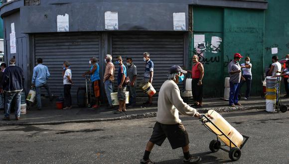 Venezuela está en cuarentena para frenar el brote de coronavirus. (AFP / Cristian Hernandez).