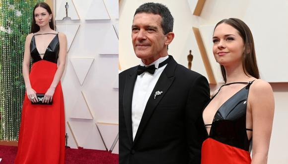 Stella Banderas se ha posicionado como una de las celebridades mejor vestidas de los Oscar 2020 con un look Gucci. (Fotos: IG/ AFP)