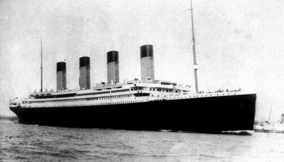 El Titanic partió del puerto de Southampton el 10 de abril de 1912. (Foto: AP).