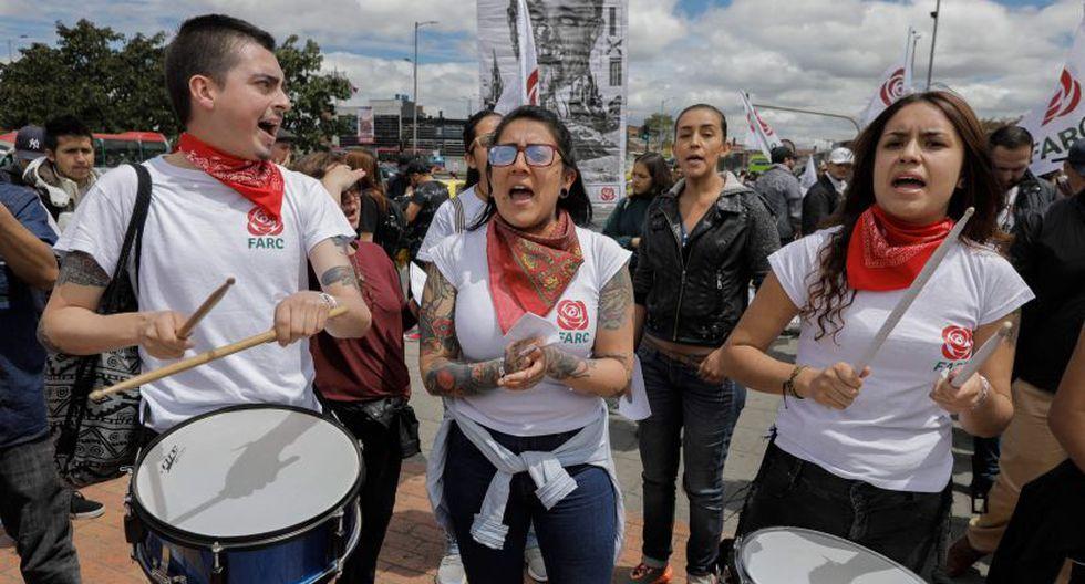 El gobierno de Santos negó que los homicidios respondan a una campaña sistemática de eliminación y señaló a narcotraficantes, los rebeldes de la guerrilla ELN y disidentes de FARC como presuntos agresores. | Foto: AFP