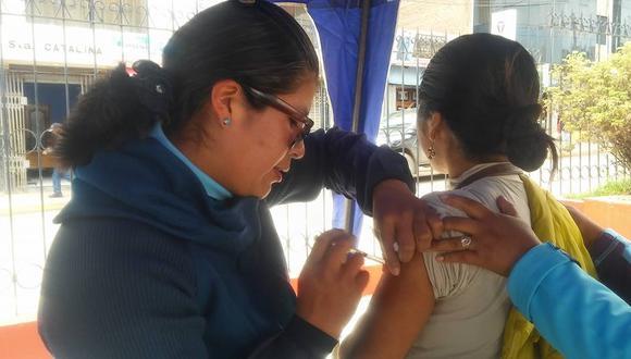 Hasta el momento no se ha determinado cuál o quién era el foco de infección que hizo brotar el sarampión en Juliaca. (Foto: Carlos Fernández)