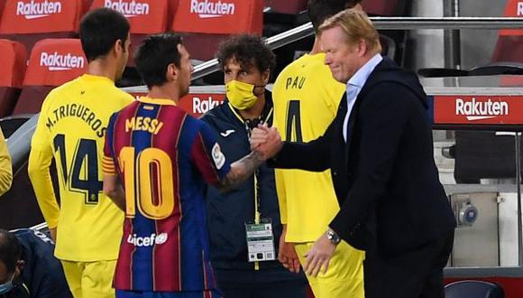 Lionel Messi tiene un gol en cinco partidos de LaLiga con Barcelona. (Foto: AFP)