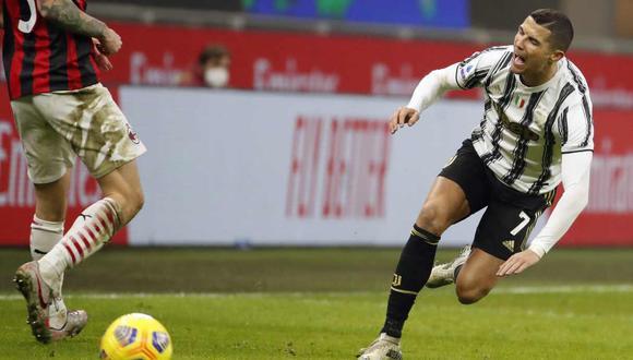 Cristiano Ronaldo en la mira de la prensa italiana por su último partido con Juventus. (Foto: AP)