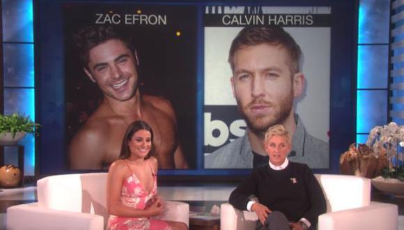 """Lea Michele eligió a quien sería """"su pareja perfecta"""" [VIDEO]"""