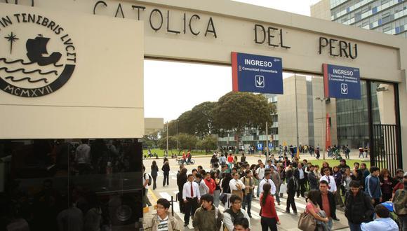Pontificia Universidad Católica del Perú (Archivo El Comercio)