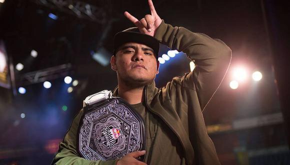 Aczino es el campeón de la primera temporada de la FMS México 2019 (Foto: Red Bull Batalla de los Gallos 2017)