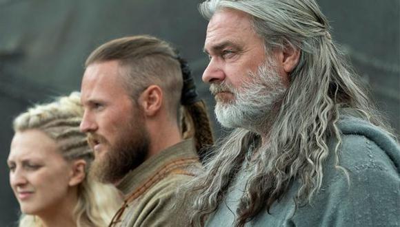 """Torvi, Ubbe y Othere llegan al nuevo mundo en la última temporada de """"Vikings"""" (Foto: Netflix)"""