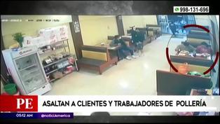 Asaltan a comensales y trabajadores de pollería en San Martín de Porres