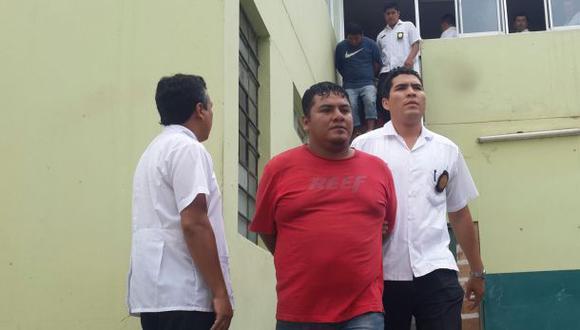 Los detenidos permanecen en la Divincri de Chiclayo. En esa dependencia también están los bienes, artefactos, armas y otros objetos incautados. (Foto: Wilfredo Sandoval / El Comercio)