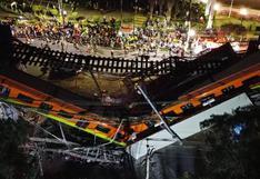 """AMLO dice que se llegará al """"fondo"""" de accidente en el metro de Ciudad de México"""