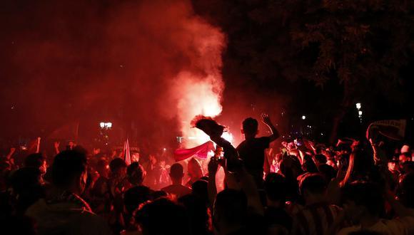Adolescente de 14 años, aficionado del Atlético de Madrid, falleció en medio de los festejos por el título de LaLiga | Foto: EFE