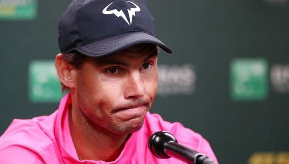 Nadal no participará del Masters de Cincinnati por segundo año consecutivo. (Foto: AFP)