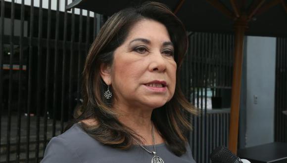 Martha Chávez lanza frases discriminatorias contra Vicente Zeballos (Foto: Miguel Bellido / Archivo El Comercio)