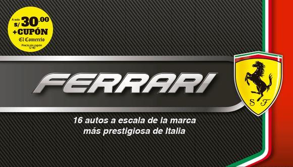 Ferrari, la collezione más esperada por los fanáticos