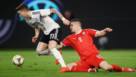 Ver Alemania vs. Serbia EN VIVO | Hoy se juega el partido en busca de una victoria que los encamine en la Fecha FIFA.. (Foto: Twitter Alemania)