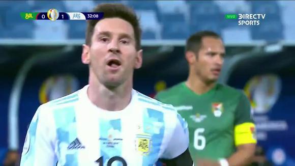 Argentina vs.  Bolivia: de Lionel Messi's goal.  (Video: DirecTV)