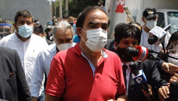Yonhy Lescano opinó sobre la posición que adoptaría Acción Popular para apoyar a algún otro candidato durante la segunda vuelta presidencial | Foto: El Comercio