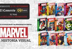 Enciclopedia Marvel, la evolución de tus súper héroes y villanos.