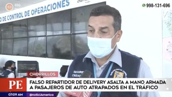 Autoridades de Chorrillos dijeron que aún no se logró con dar con el paradero del ladrón. Foto: captura de pantalla