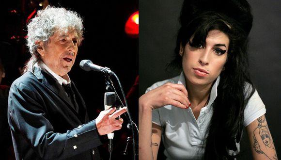 Bob Dylan reaparece y elogia a la fallecida Amy Winehouse
