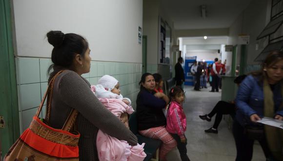 Centros de salud presentan deficiencias. (Foto referencial: Archivo El Comercio)