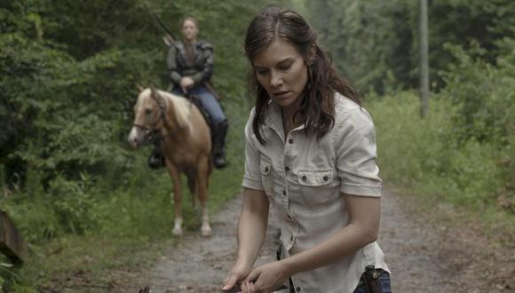 """Lauren Cohan, conocida por interpretar a Maggie en """"The Walking Dead"""", deja la serie que le dio fama mundial. (Foto: Agencias)"""