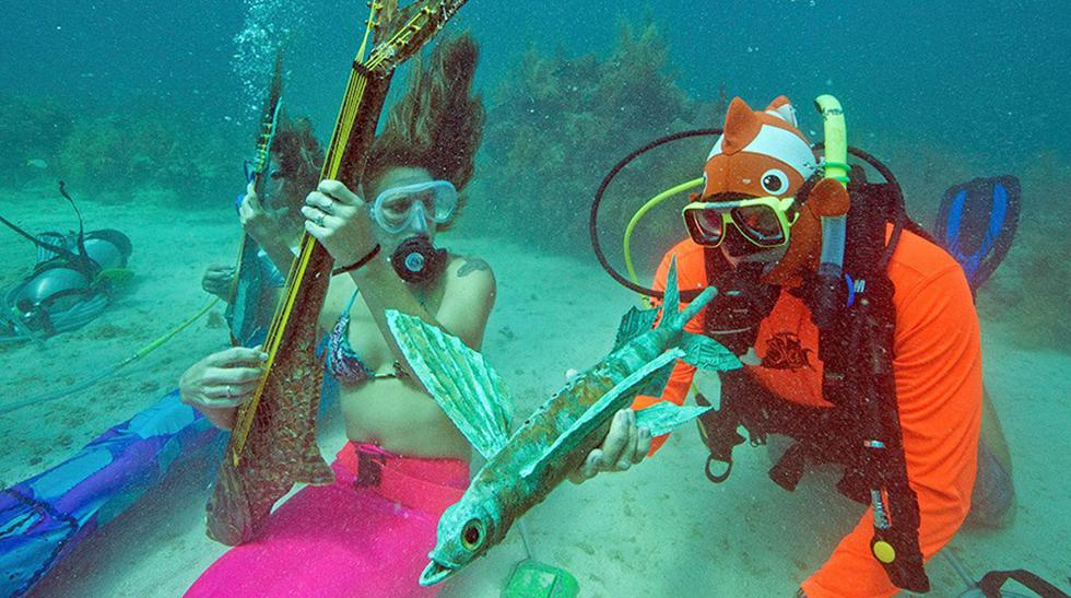 Disfruta del único festival musical bajo el agua del mundo - 1