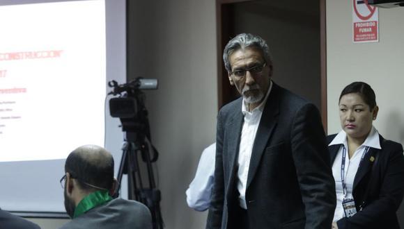 José Paredes es procesado por su presunta relación con el llamado 'club de la construcción' (Foto: GEC)