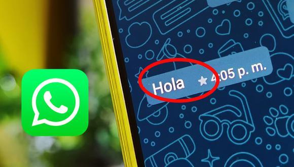 ¿Sabes qué es la extraña estrella que aparece en WhatsApp? Aquí te lo explicamos. (Foto: MAG)
