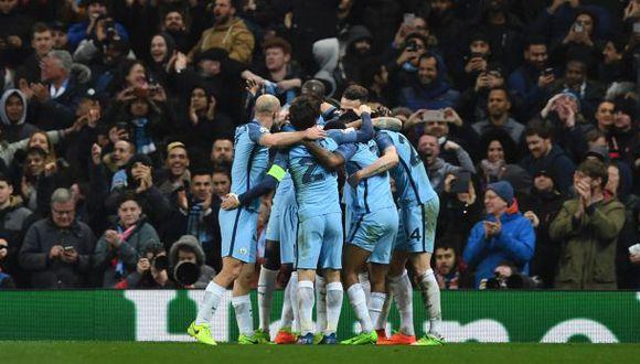 Manchester City derrotó 5-3 a Mónaco en octavos de Champions