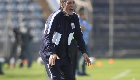 Salas sumó ocho encuentros sin victorias con Alianza Lima. (Foto: Movistar Deportes)