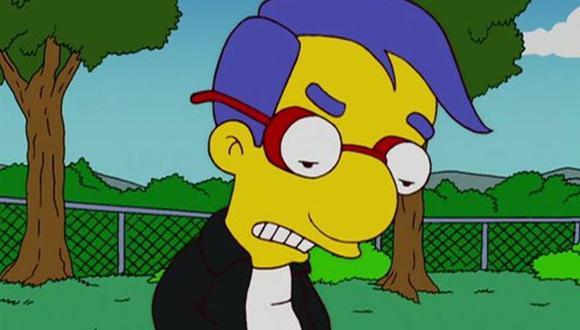 """En """"The Simpsons"""", Milhouse suele ser abandonado mucho por Bart pese a que son buenos amigos, sobre todo, cuando aparece una mejor opción para pasar el rato (Foto: Fox)"""